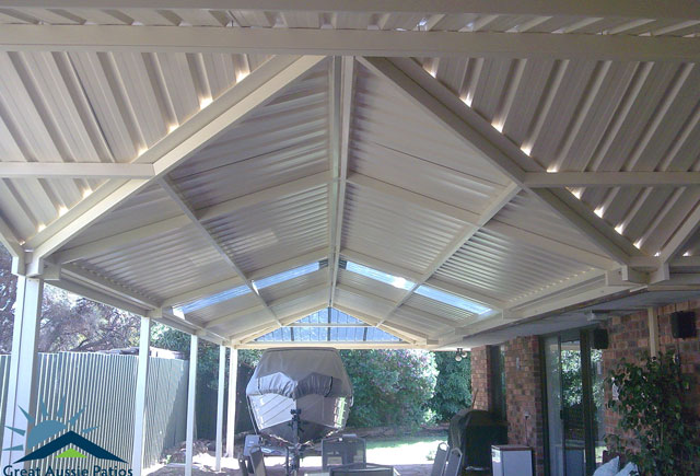 Custom Gable Patios
