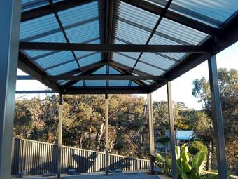 all polycarbonate hipend patio