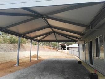 a double hipend patio with solarspan roof