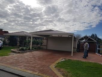 hipend double carport