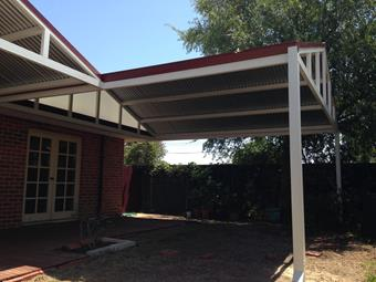 Double Gable Patio