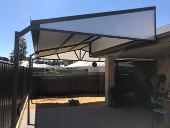 a gable patio cut truss by great aussie patios