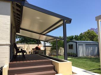 solarspan flat patio