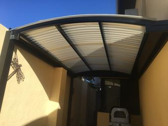 diffused ice poly dome patio