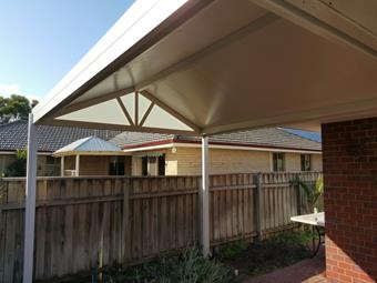 Solarspan gable patio
