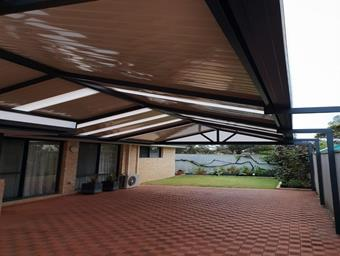 a cdek gable patio by great aussie patios