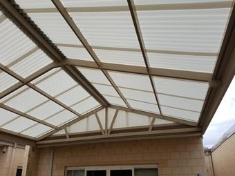 All poly gable 3 - Great Aussie Patios