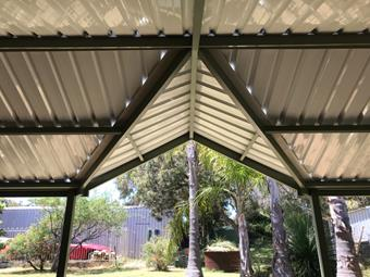 a custom hip valley gable by great aussie patios