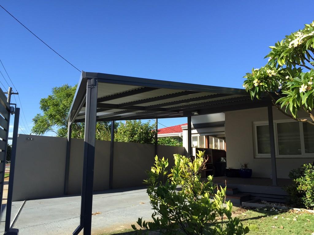 Flat Carport Designs : Flat roof patio pergola designs great aussie patios perth