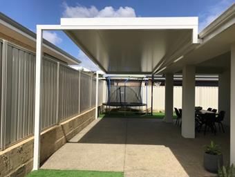 a solarspan patio by great aussie patios