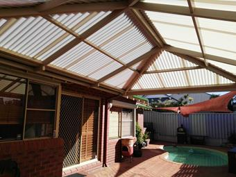 all poly hipend patio