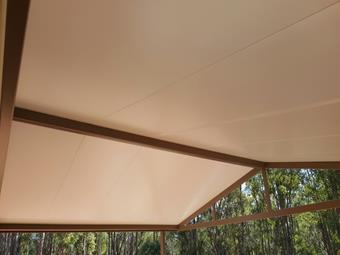Gable solarspan patio