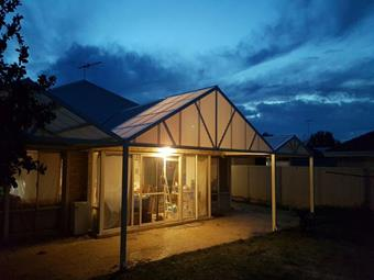 All polycarbonate Gable patio 2 - Great Aussie Patios