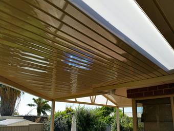 C-dek flat to gable patios - Great Aussie Patios