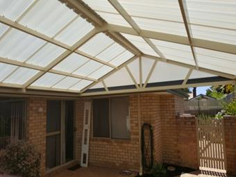 All polycarbonate Gable patio 5 - Great Aussie Patios