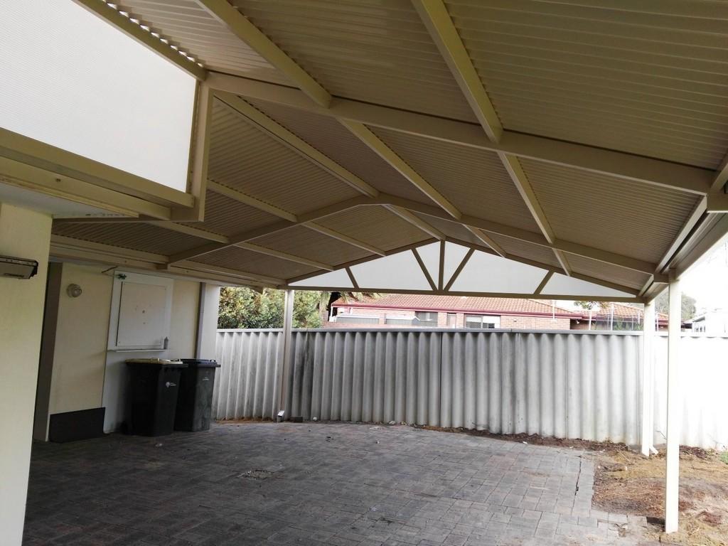 Gable patio designs carports perth great aussie patios for Gable patio designs