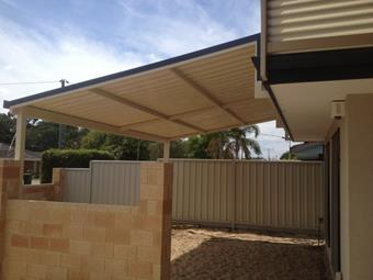 raised flat patio by great aussie patios