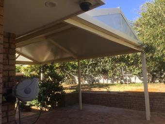 gable patio with solarspan