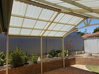 All polycarbonate Gable patio 4 - Great Aussie Patios