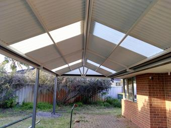 gable colorbond patio