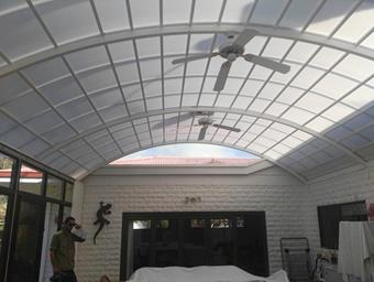 a dome patio in multicell