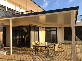 a flat solarspan by great aussie patios