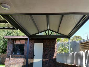 Gable patio