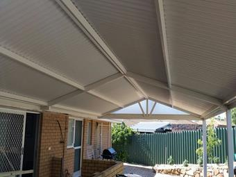 All Colourbond gable patio 2 - Great Aussie Patios