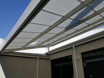 Raised flat in Multicell roofing