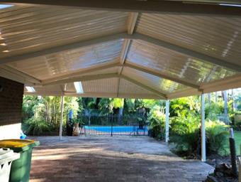 a gable cdek with hip by great aussie patios