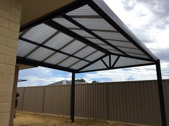 All poly gable 2 - Great Aussie Patios