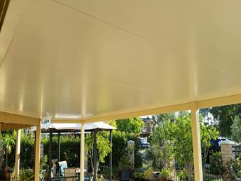 Flat Solarspan patio