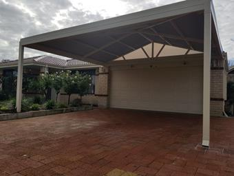 a hipend gable carport