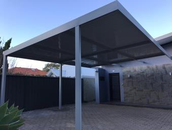 custom open carport