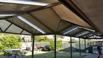C-dek roof sheets