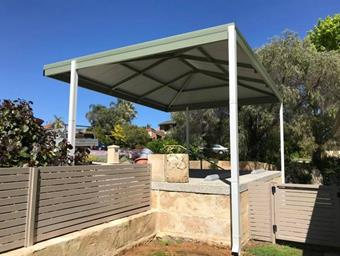 a double hipend gable carport