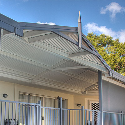 ... Carport Or Patio Roofing Options: COLORBOND Steel