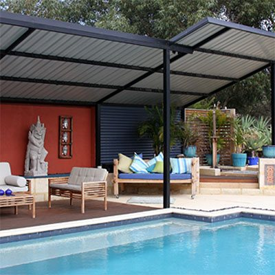 Skillion Patio Designs   Great Aussie Patios Perth
