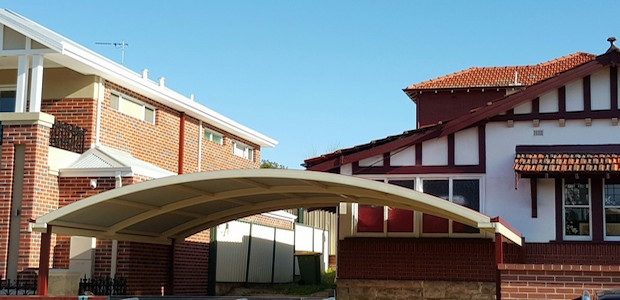 Mount Lawley Patio of the Week - Dome Colorbond Carport in Mt Lawley