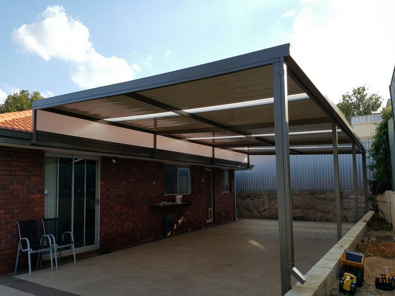 Raised Flat Patio by Great Aussie Patios.
