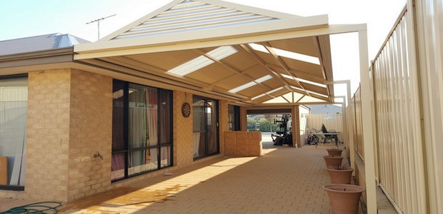 Patio of the Week - Colorbond Gable Patio in Mandurah