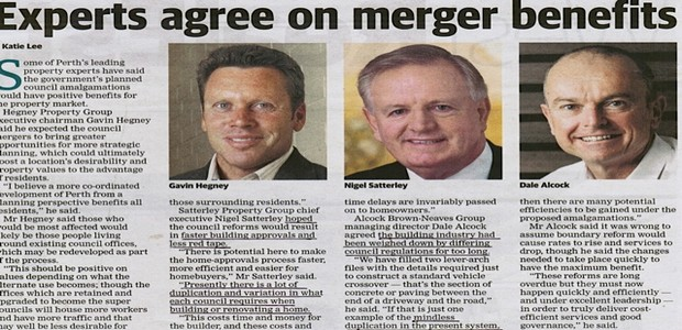 Council merger has to be a good thing