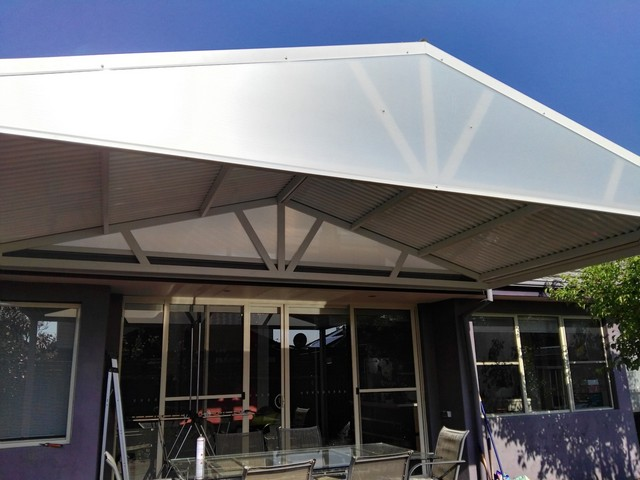 alfresco sunlite endfill roofing from great aussie patios
