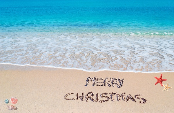 Aussie Christmas Tradition at the beach