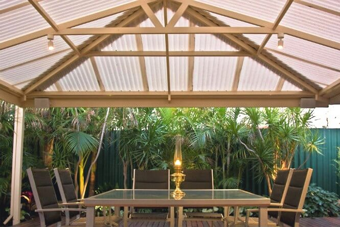 Polycarbonate Roofing Perth Suntuf Great Aussie Patios