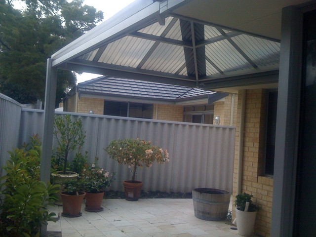 all polycarbonate pyramid pergola by great aussie patios