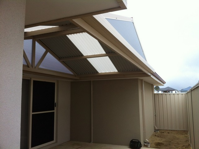gable pergola in the void by great aussie patios