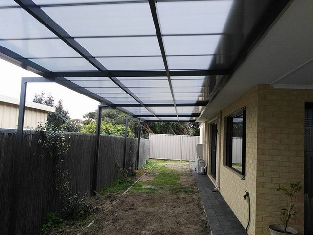 flat pergola in multicell by great aussie patios