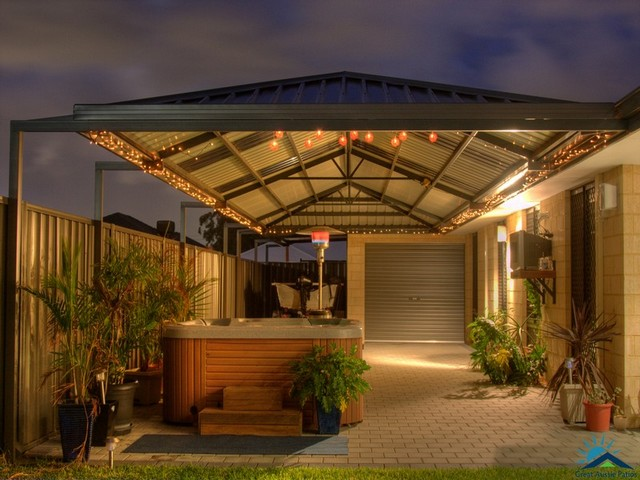 hipend gable patio by great aussie patios