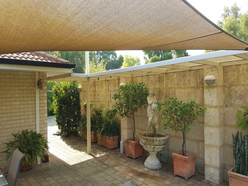They are also usually free-standing, although they may also be attached to  the wall of the property or to another structure. Modern pergola's can be  made of ... - Pergolas Vs. Patios: What's Best? Great Aussie Patios Perth
